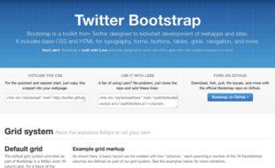 Twitter Bootstrap