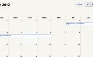 Events management with wordpress agenda